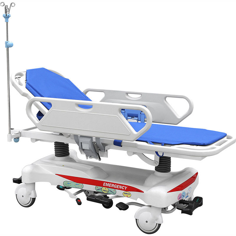 Medical Emergency Patient Transfer Trolley Folding Stretcher SAE - TC - 03 Model
