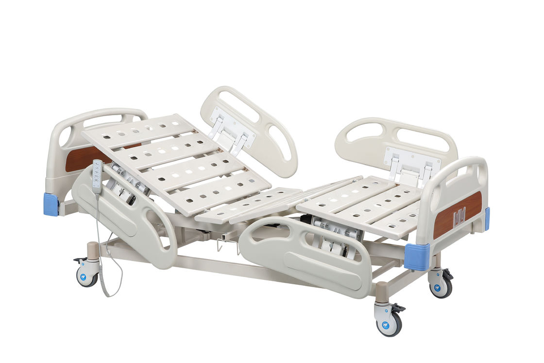 Medical Folding Hospital Beds / 5 Function Automatic Patient Bed