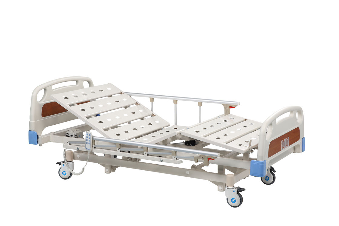 Electrical Elevating Height Medical Hospital Bed 3 Function Economic