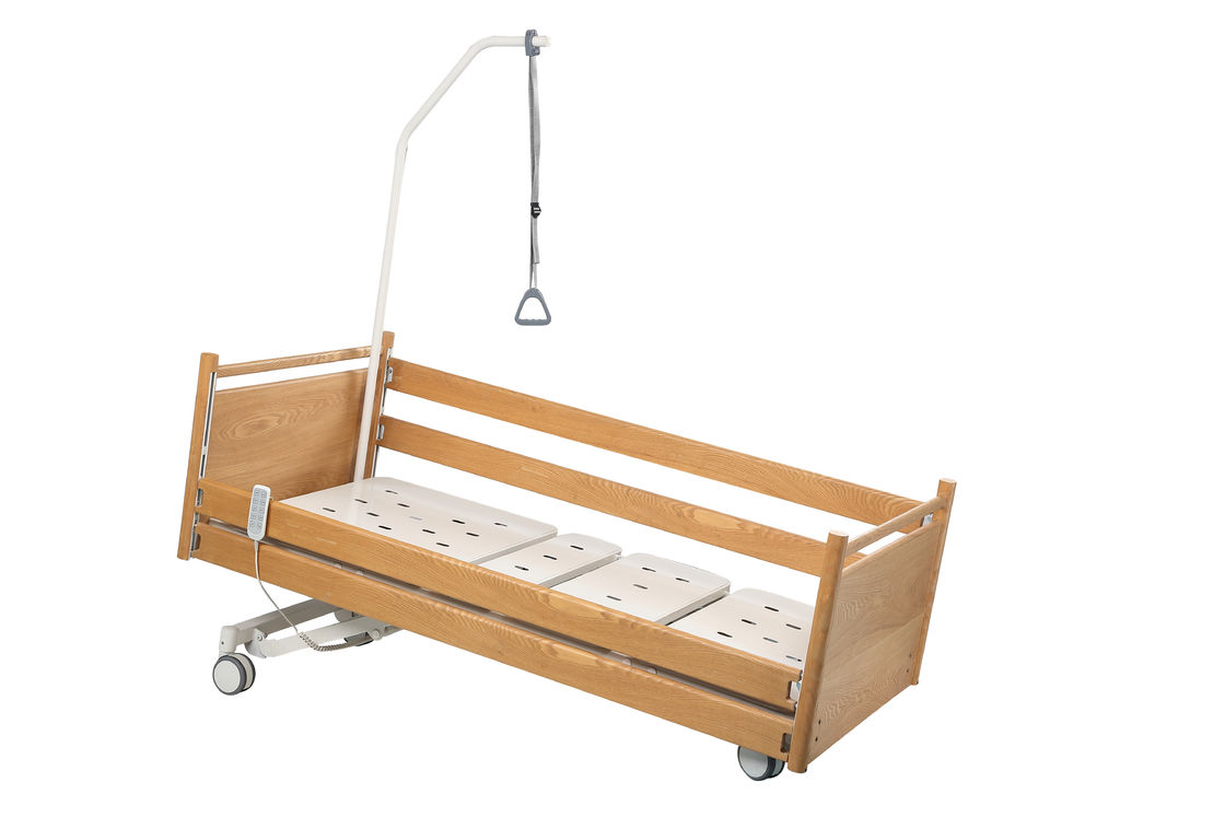 Solid Remote Home Care Bed Wood Material For Aged 2 Years Warranty K - 5a Model