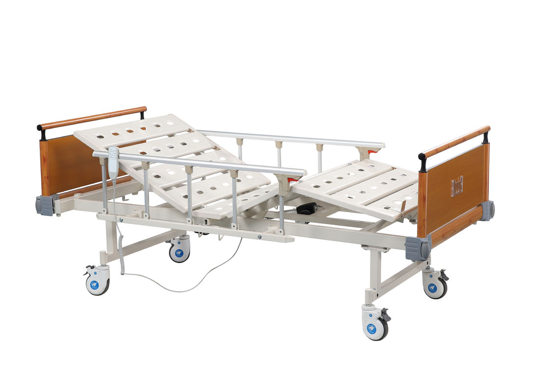 OEM Medical Hospital Bed With Remote Adjustable For Disabled Patient