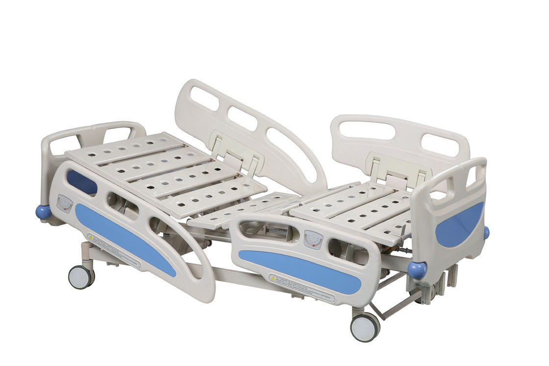 Steel Frame Electric Hospital Beds With Side Rails 2190 * 990 * 400 - 630mm Size